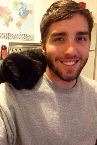 Kitty on your shoulder