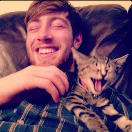 Men who loves cats