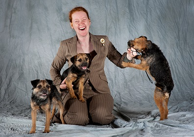 Dog breeder Tegan Whalan is also a rescue volunteer