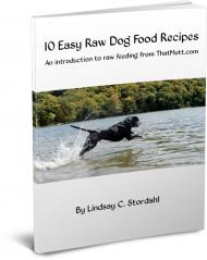 Raw dog food recipes