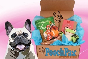 PoochPax gift box for dogs
