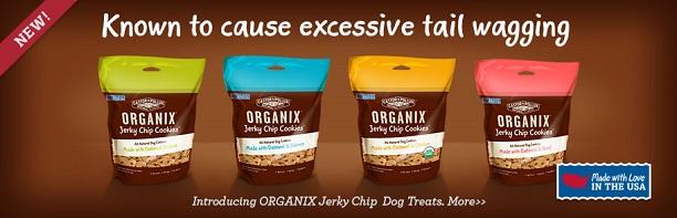 ORGANIX jerky chip cookies