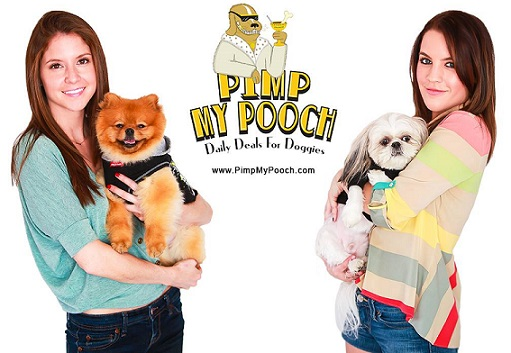 Pimp My Pooch daily deal site for dogs at PimpMyPooch.com