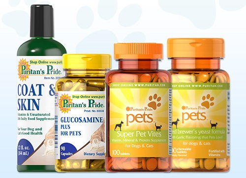 Puritan's Pride pet supplements