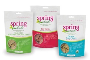 Spring Naturals treats for dogs