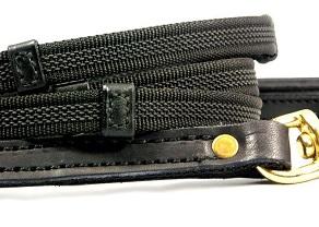 High end dog leash - the RuffGrip dog leash