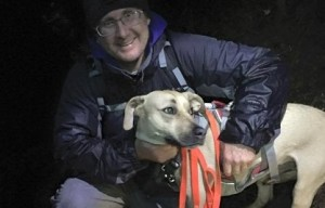 Dog survives 150-foot fall during Christmas Day hike