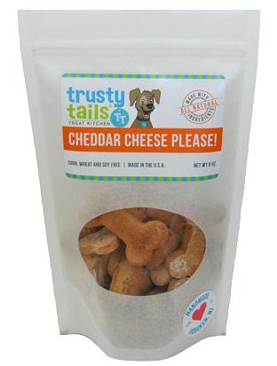 Cheddar Cheese flavor Trusty Tails Treat Kitchen