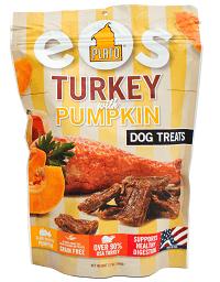 EOS turkey and pumpking Plato Pet Treats