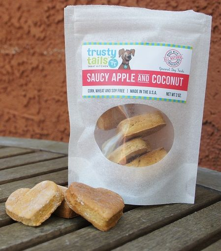 Trusty Tails Treats apple and coconut