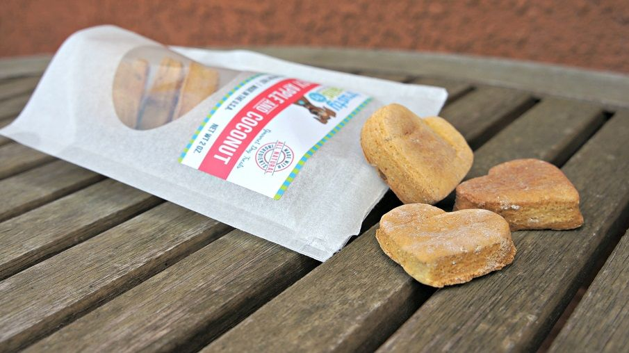 Trusty Tails treats apple and coconut (2)