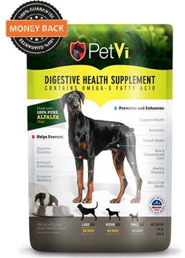 PetVi Digestive Health Supplement for dogs