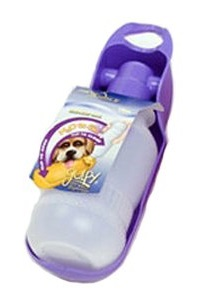 Gulpy water bottle for dogs