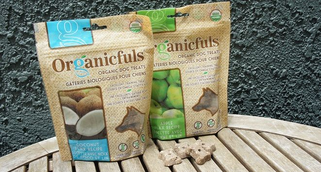 Organicfuls dry dog biscuits