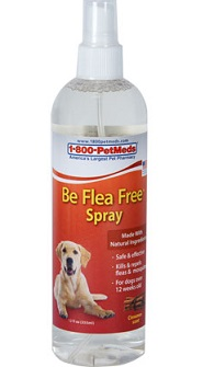 Natural flea spray with cedar oil