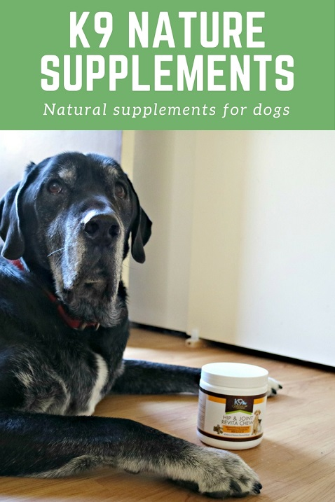 Natural supplements for dogs from K9 Nature Supplements