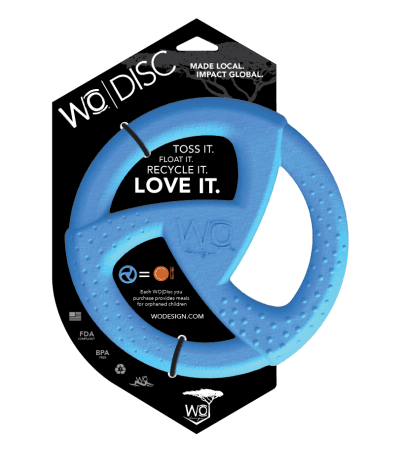 WO Design dog disc toy