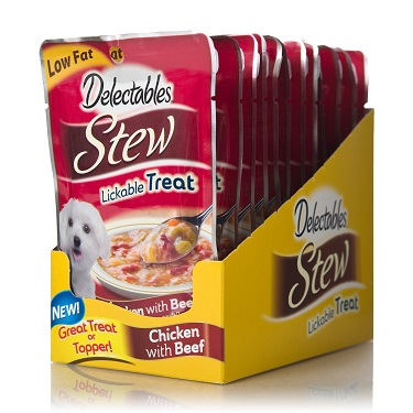 Delectables dog treat review