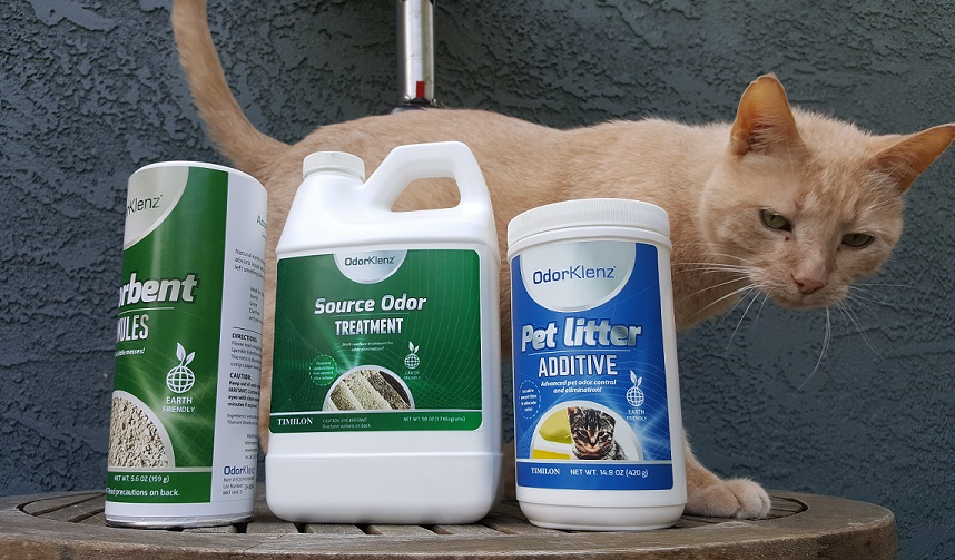 OdorKlenz Review - odor removal for dogs and cats