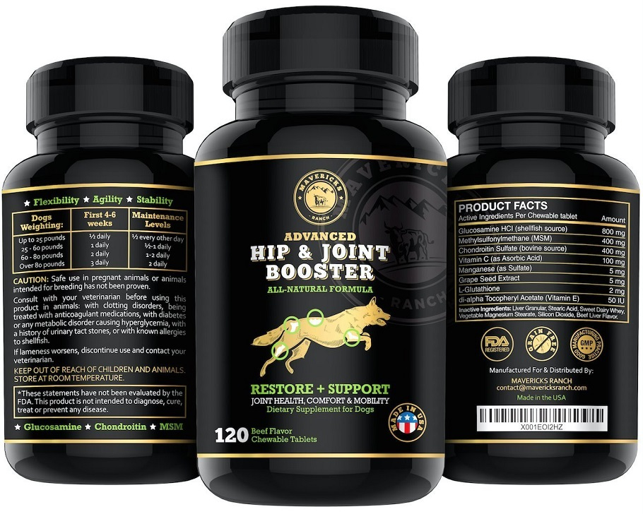 How Much Glucosamine Can I Give My  Pound Dog