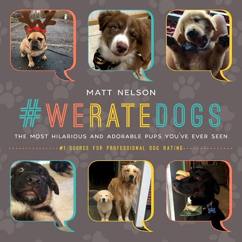 Book by creator of #WeRateDogs