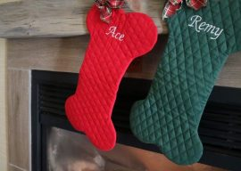 Dog Bone Christmas Stockings