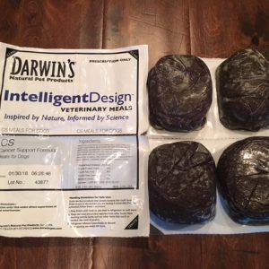 Darwin's Raw Dog Food Cancer Support Formula