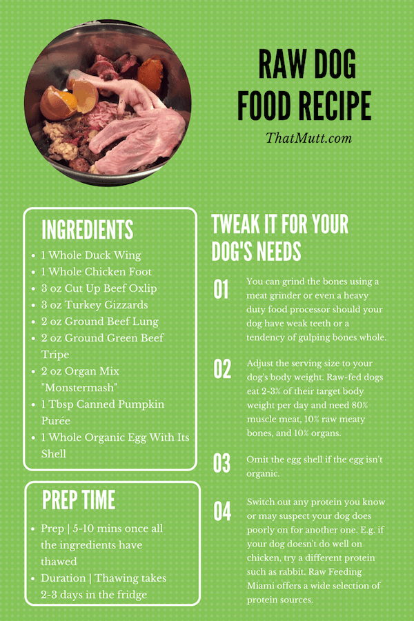 Example of balanced raw dog food recipe easy to follow example of balanced raw dog food recipe forumfinder Choice Image