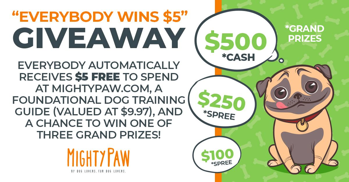 Mighty Paw giveaway!