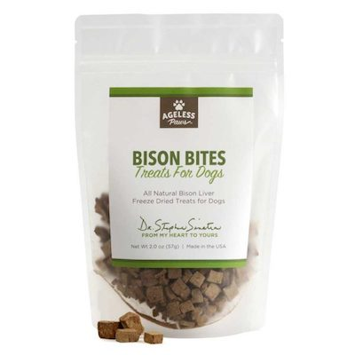 Ageless Paws Bison Liver Treats