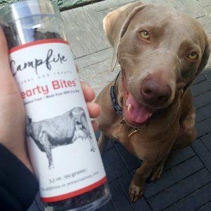 Campfire Natural Dog Treats Review + Giveaway